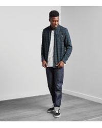 Levi's Blue Levis 511 Rigid Selvedge Slim Fit Jeans for men