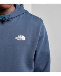 The North Face - Blue Seasonal Drew Hoody for Men - Lyst