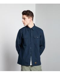 Carhartt WIP Blue Mission Overshirt for men
