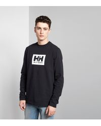 Helly Hansen | Black Ninety Five Long-sleeved T-shirt for Men | Lyst