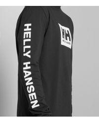 Helly Hansen - Black Ninety Five Long-sleeved T-shirt for Men - Lyst