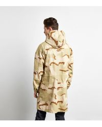 Stussy Multicolor Long Ripstop Camo Jacket for men