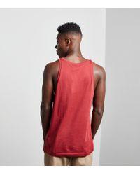 Adidas Originals Red Trefoil Tank Vest for men