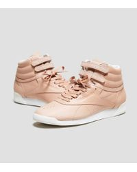 Reebok Brown X Face Stockholm Freestyle High Women's