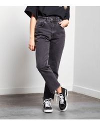 The Ragged Priest Gray Graze 'mom' Ankle Jeans