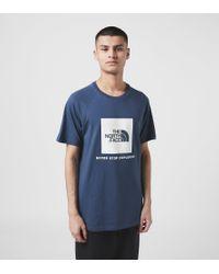 Maglietta Redbox di The North Face in Blue da Uomo