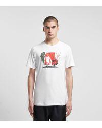 Box Car T-Shirt di Nike in White da Uomo