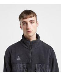 ACG Full Zip Fleece Jacket di Nike in Black da Uomo
