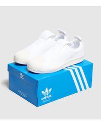 Adidas Originals   White Superstar Bw35 Women's   Lyst