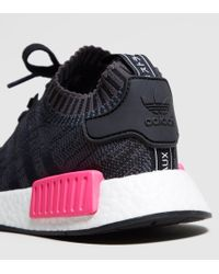Adidas Originals - Black Nmd_r1 Primeknit Women's - Lyst