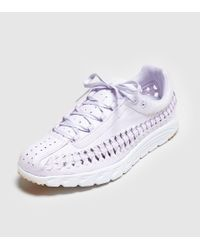 Nike Purple Mayfly Woven Satin Women's