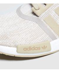 Adidas Originals White Nmd R_1 Primeknit for men