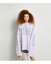 PUMA - Purple X Fenty Lace Hoody - Lyst