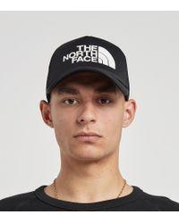 Logo Trucker Cap The North Face de hombre de color Black