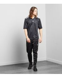 Adidas Originals - Black Trefoil Football Jersey for Men - Lyst