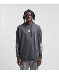 dbf77dee02b4 Lyst - adidas Originals Cornered Overhead Hoodie in Gray for Men
