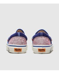 Slip On 'New Wave' Femme - Exclusivité size? Vans en coloris Blue