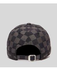 Huf - Blackout Curved Visor Hat for Men - Lyst