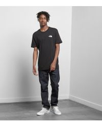 The North Face - Black Simple Dome T-shirt for Men - Lyst