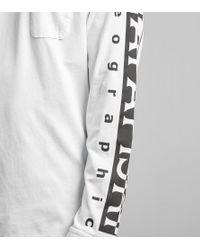 Napapijri | White Long Sleeved Sabah T-shirt for Men | Lyst