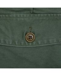 (w)taps - Green Buds Satin Cotton Pants for Men - Lyst