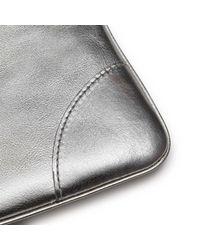 Comme des Garçons - Gray Gold Line Wallet - Lyst