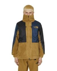 THE NORTH FACE BLACK SERIES Multicolor High Neck Fleece Jacket for men