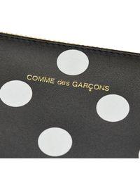 Comme des Garçons - Black Polka Dots Printed Pouch - Lyst