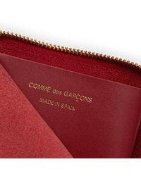Comme des Garçons - Red Classic Zip Wallet M - Lyst