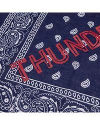 THUNDERS - Blue Core Logo Bandana - Lyst