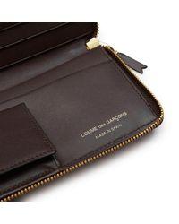 Comme des Garçons - Brown Classic Leather Line Wallet L - Lyst