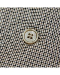 Our Legacy - Gray Archive Box Chefs Herringbone Shirt for Men - Lyst