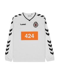 Hummel - 424 X Long Sleeve Jersey Top White for Men - Lyst