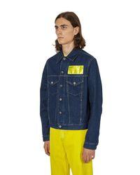 Helmut Lang Blue Industry Masc Big Trucker Denim Jacket for men