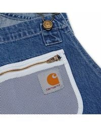 Carhartt WIP - Blue Paccbet Bid Overall for Men - Lyst
