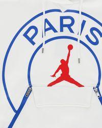 Nike White Paris-saint German Hooded Sweatshirt