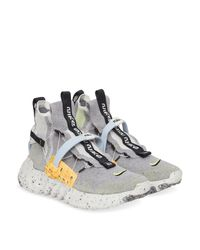Nike Gray Space Hippie 03 Sneakers for men