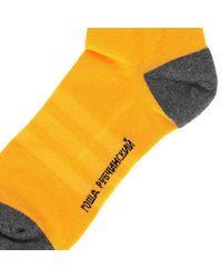Gosha Rubchinskiy - Orange Adidas Socks for Men - Lyst