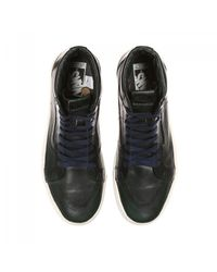 Vans - Blue Horween Leather X Sk8-hi Cup Lx Sneakers for Men - Lyst