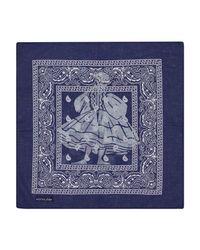 THUNDERS - Blue Euro Dancer Bandana Navy - Lyst