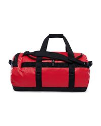 The North Face Base Camp Duffel Women's Travel Bag In Red
