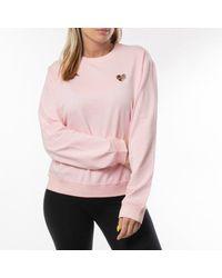 Love Moschino Pink Felpa Girocollo W6306 82 E2124 L91