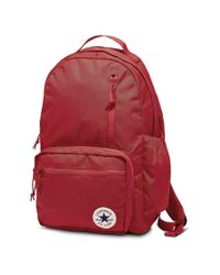 Converse Red Go Backpack 10007271-a01