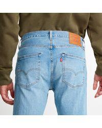Levi's Blue 501 Slim Taper for men