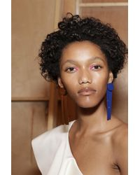 Solace London - Shelby Earring Blue - Lyst