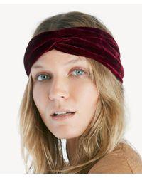 Sole Society Black Oversize Turban Headband