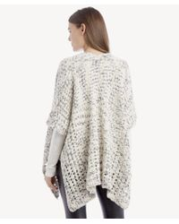 Sole Society - Multicolor Marled Cocoon Wrap - Lyst