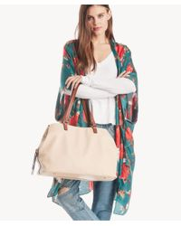 Sole Society Natural Miller Tote Vegan Leather Tote