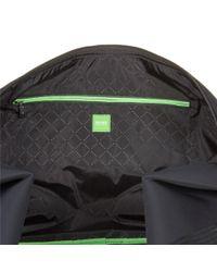 BOSS Green - Black Pixel Holdall for Men - Lyst