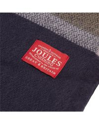 Joules - Blue Berkley Scarf - Lyst